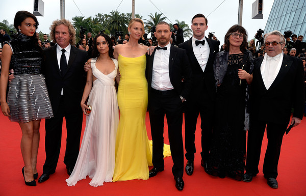 Cannes 2015: il cast e i realizzatori di Mad Max: Fury Road sul red carpet