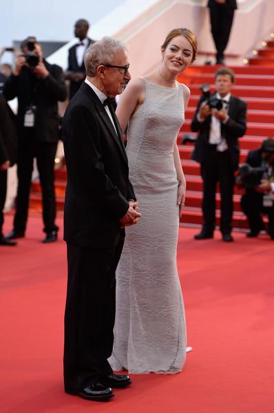 Cannes 2015 - Woody Allen ed Emma Stone alla première di Irrational Man
