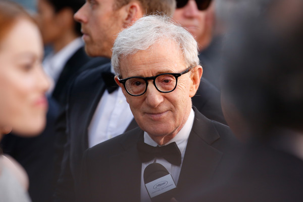 Cannes 2015 - Woody Allen sul red carpet della première di Irrational Man