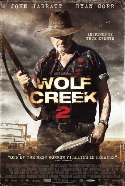 Locandina internazionale di Wolf Creek 2 - La preda sei tu