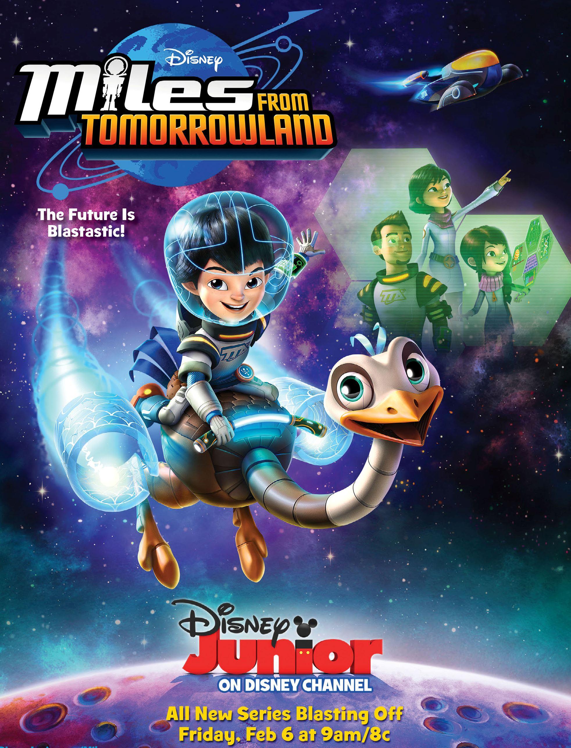 Miles dal Futuro: il poster della serie animata