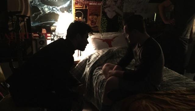 Preacher: Dominic Cooper e Ian Colletti nella prima immagine