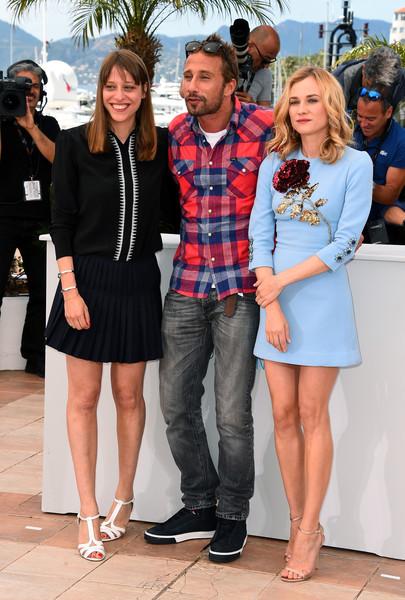 Cannes 2015: Alice Winocour, Matthias Schoenaerts e Diane Kruger al photocall di Maryland