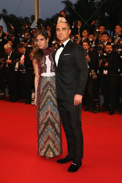 Cannes 2015: Ayda Field e Robbie Williams alla première di The Sea of Trees