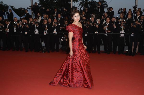 Cannes 2015: l'attrice Noomi Rapace alla première di The Sea of Trees