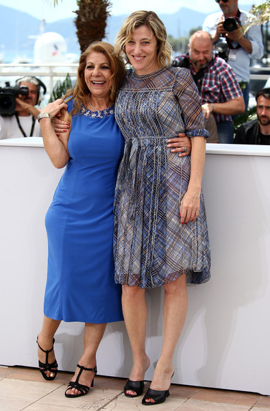 Cannes 2015 - Tassadit Mandi e Valeria Bruni-Tedeschi al photocall di Asphalte