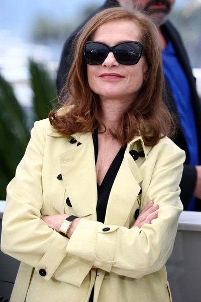 Cannes 2015 - l'attrice Isabelle Huppert al photocall di Asphalte