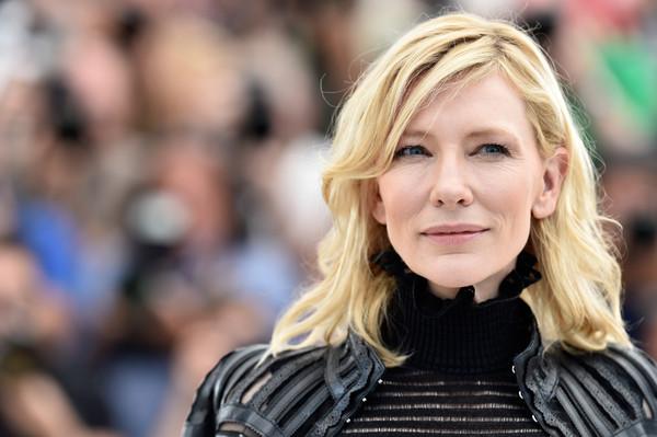 Cannes 2015 - L'attrice Cate Blanchett al photocall del film Carol