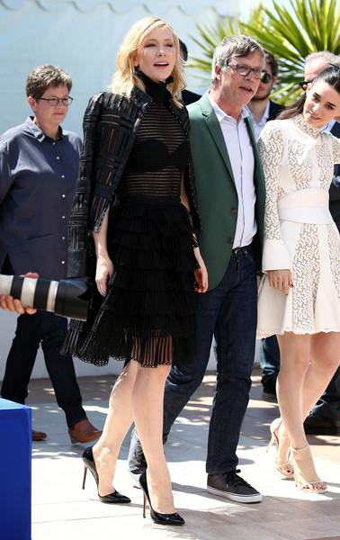 Cannes 2015 - Cate Blanchett, Todd Haynes e Rooney Mara al photocall