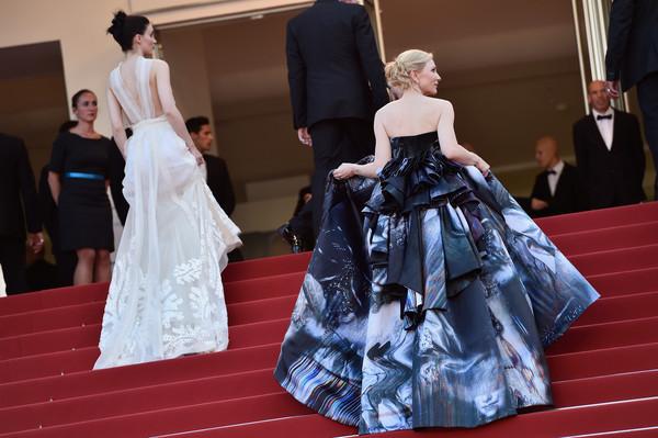 Cannes 2015 - Rooney Mara e Cate Blanchett sul red carpet di Carol