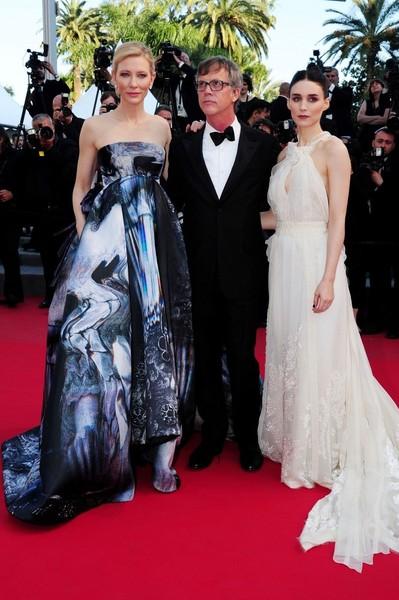 Cannes 2015 - Cate Blanchett, Todd Haynes e Rooney Mara alla première di Carol
