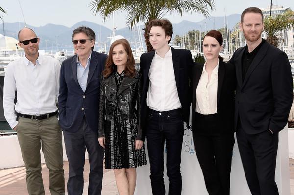 Louder Than Bombs: il regista Joachim Trier insieme al cast: Isabelle Huppert, Rachel Brosnahan, Gabriel Byrne e Devin Druid