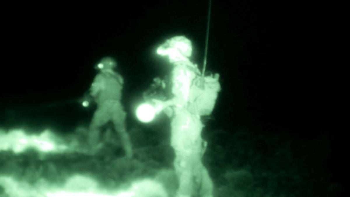 The Wakhan Front: una scena notturna del film