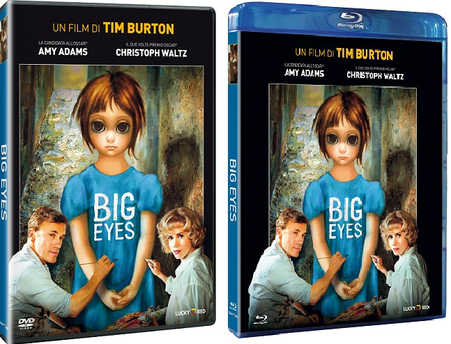 Le cover homevideo di Big Eyes