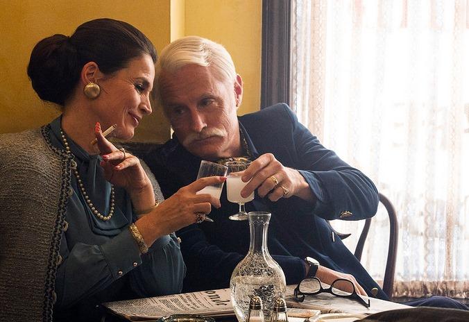 Mad Men: Julia Ormond e John Slattery nell'episodio Person to Person