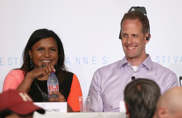 Inside Out: Pete Docter e Mindy Kaling durante la conferenza di Cannes