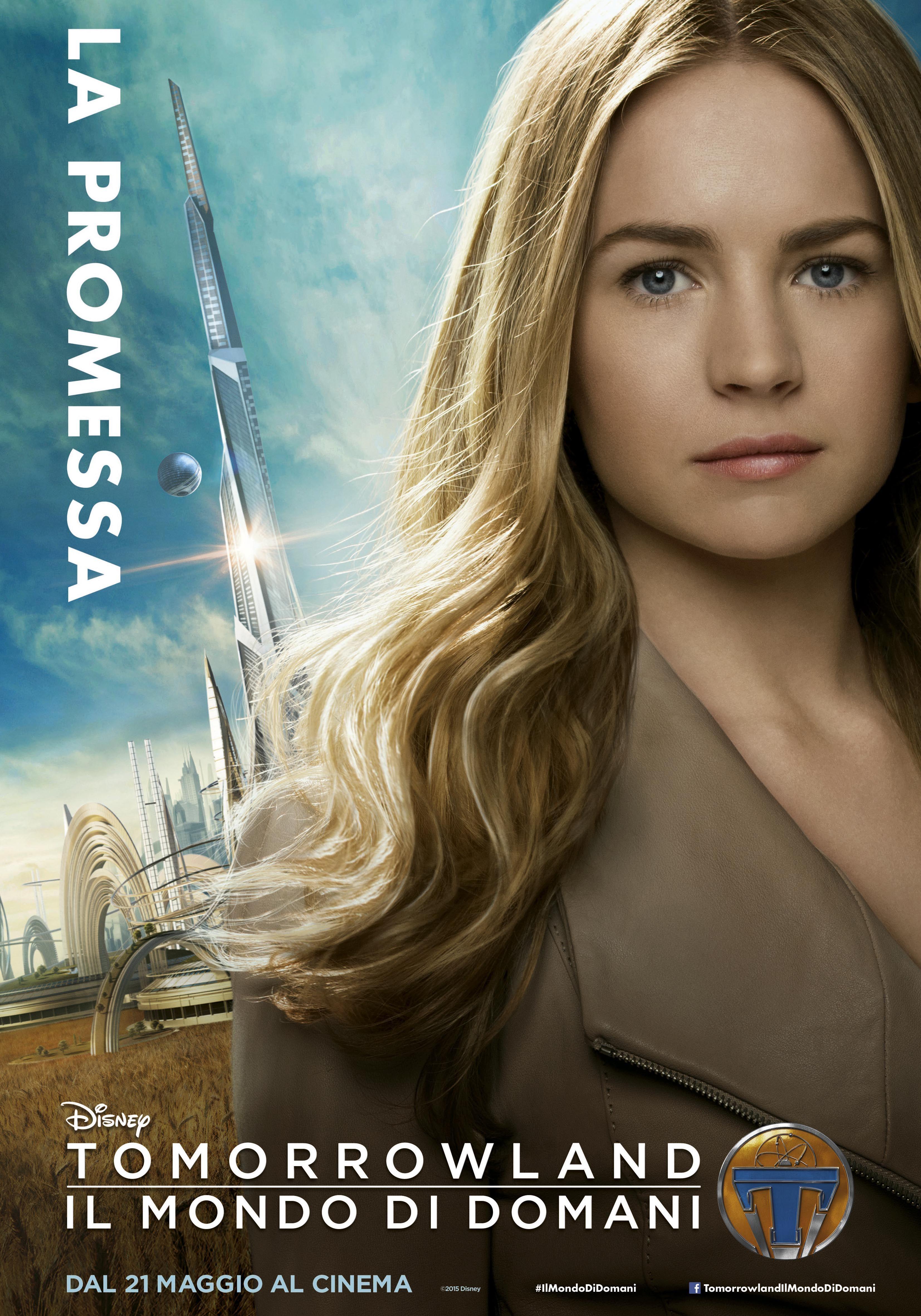 Tomorrowland - Il mondo di domani: il character poster italiano di Casey (Britt Robertson)