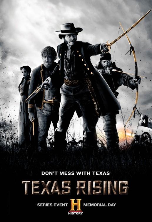 Texas Rising: una locandina per la miniserie