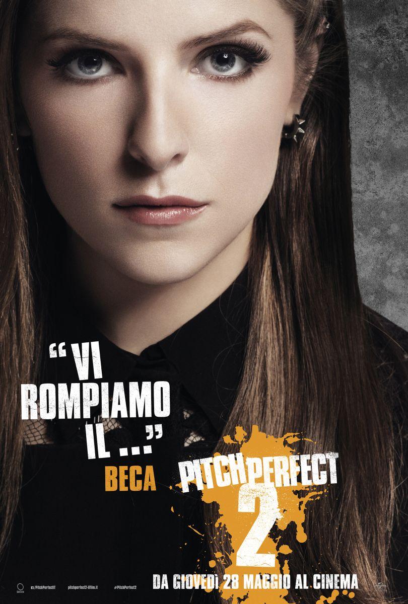 Pitch Perfect 2: il character poster italiano di Beca (Anna Kendrick)
