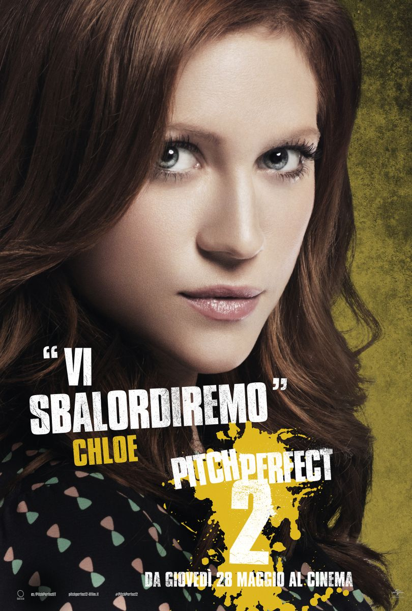 Pitch Perfect 2: il character poster italiano di Chloe (Brittany Snow)