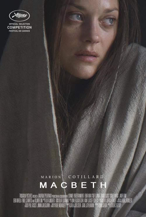 Macbeth: il character poster di Marion Cotillard