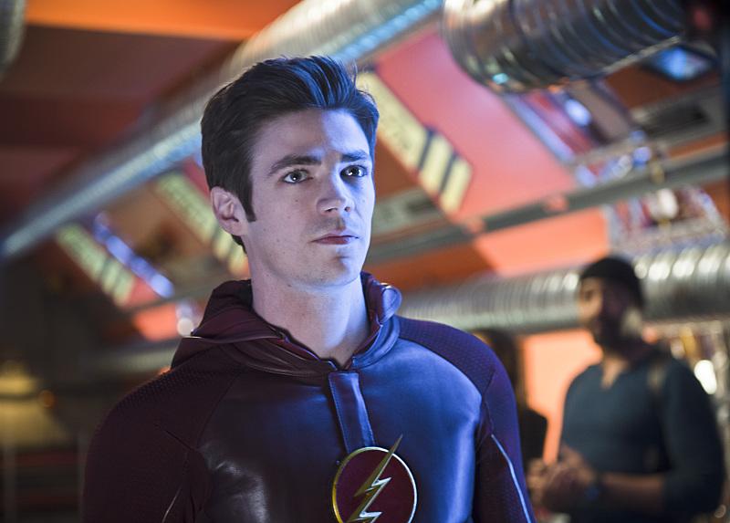 The Flash: il protagonista Grant Gustin nella puntata Fast Enough