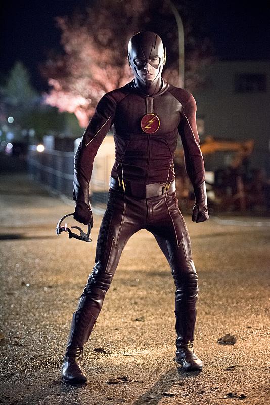 The Flash: Grant Gustin in un'immagine del season finale Fast Enough