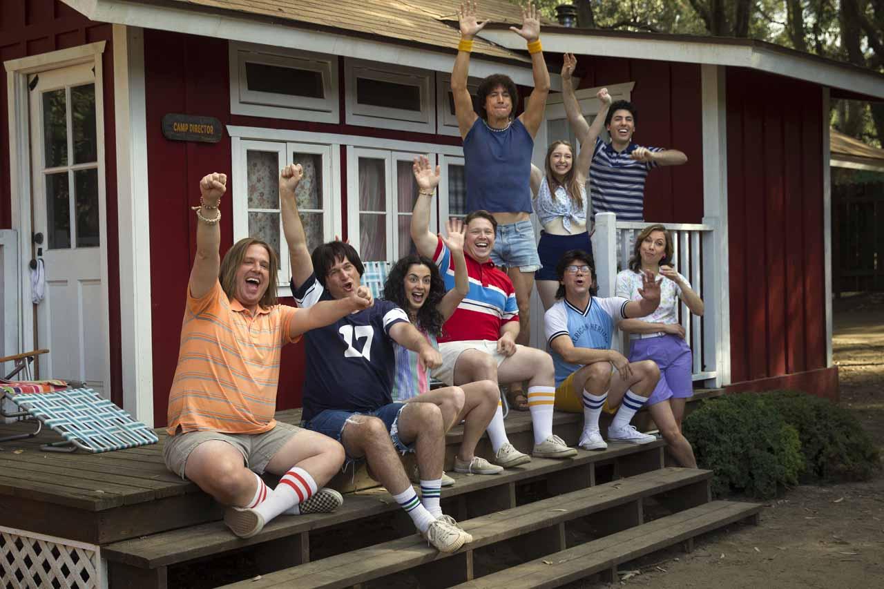 Wet Hot American Summer: First Day of Camp -Alcuni dei protagonisti della serie