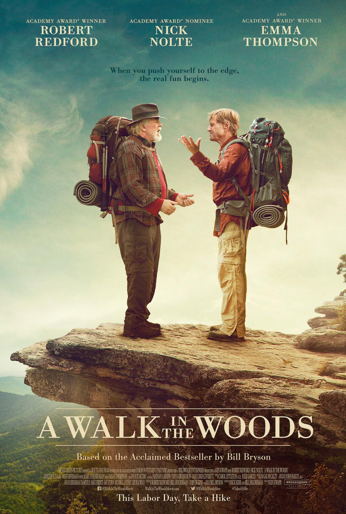 A Walk in the Woods: il poster del film