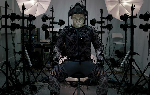Star Wars: Episodio VII - Il Risveglio della Forza: Andy Serkis sul set