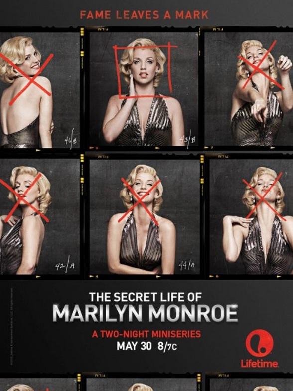 The Secret Life of Marilyn Monroe: la locandina della mini serie