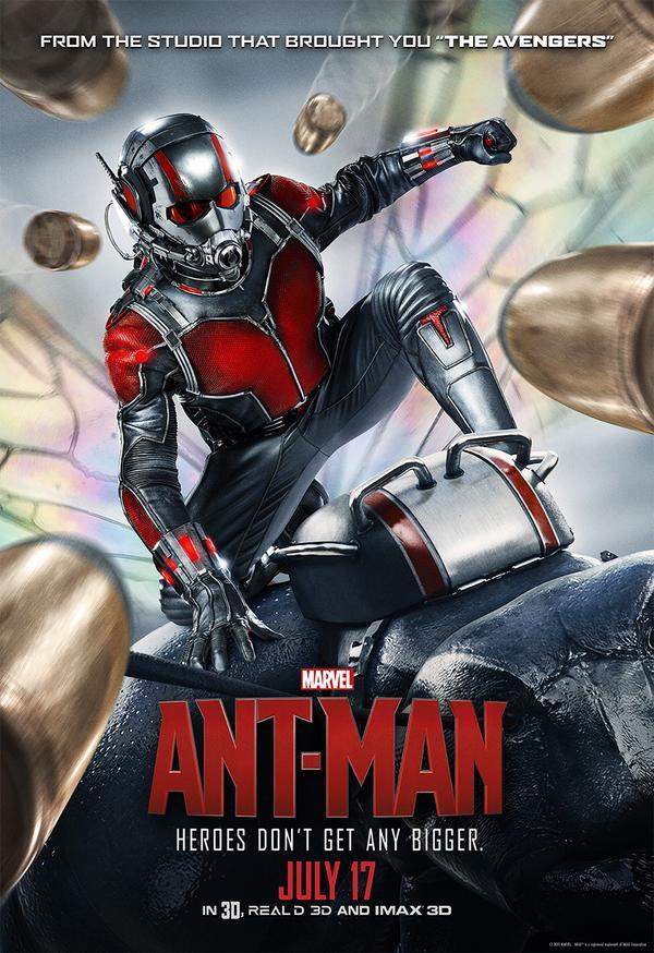 Ant-Man: una locandina dedicata all'Uomo Formica