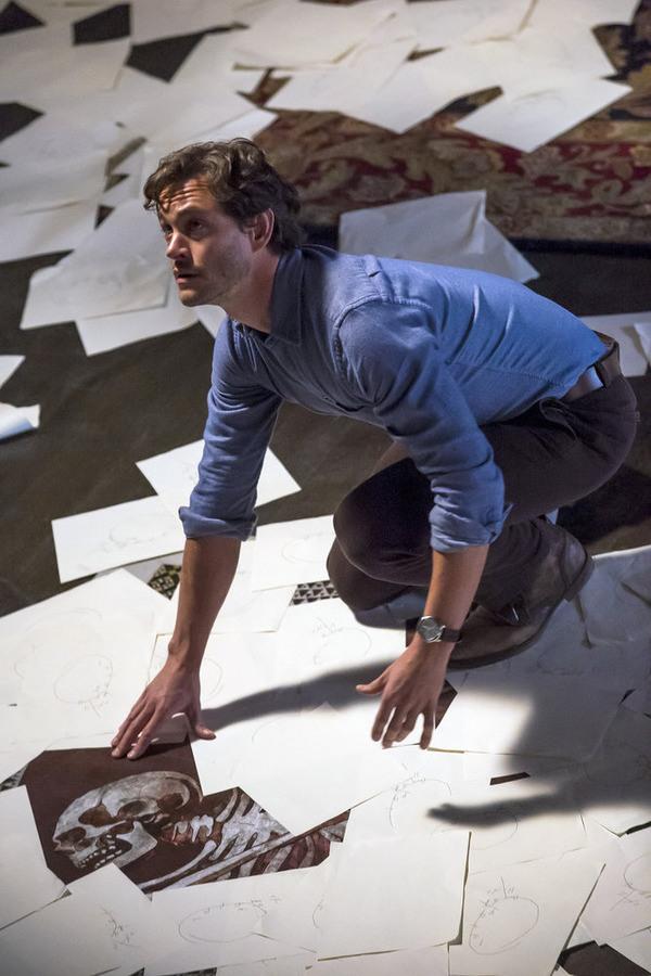Hannibal: l'attore Hugh Dancy in uno scatto tratto dall'episodio Primavera