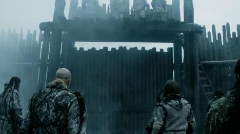 Il trono di spade: una scena tratta dalla battaglia mostrata nell'episodio Aspra dimora