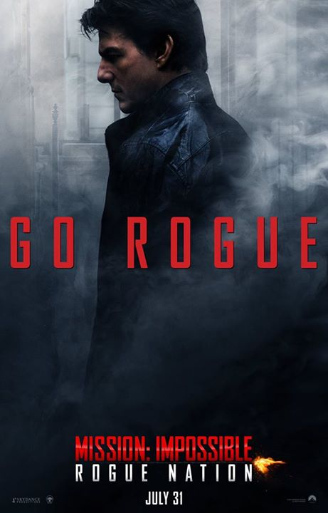 Mission: Impossible - Rogue Nation: Tom Cruise nel character poster dedicato a Ethan Hunt