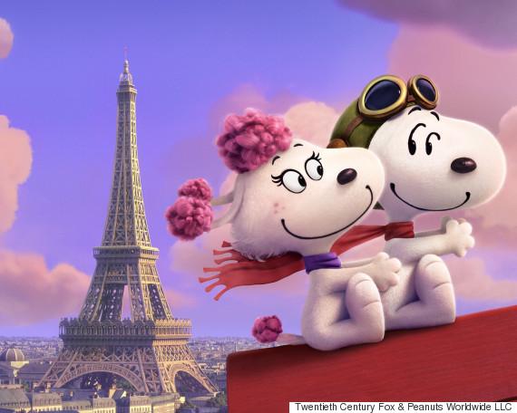 Snoopy & Friends - Il film dei Peanuts: Fifi e Snoopy in un'immagine del lungometraggio