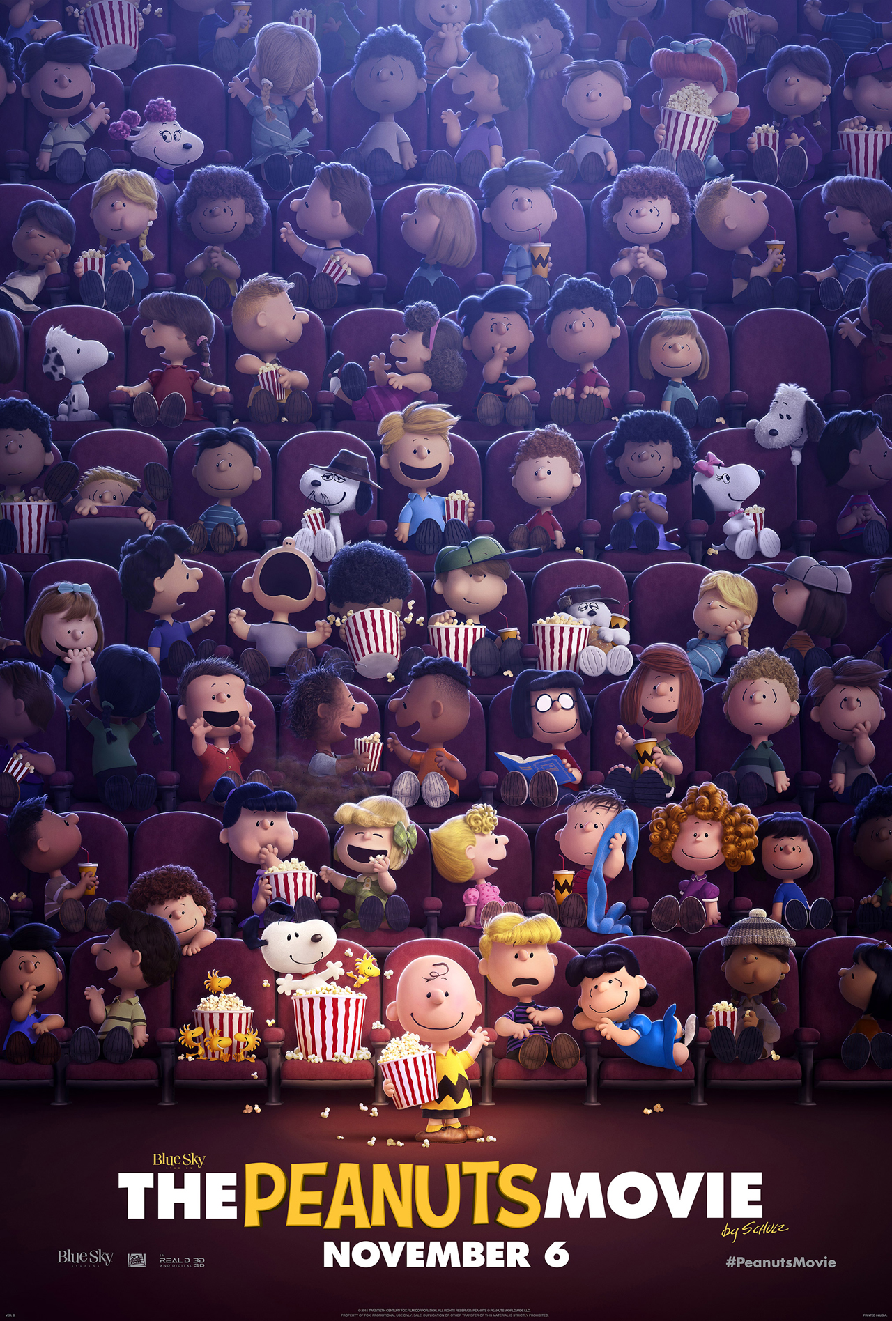 Snoopy & Friends - Il film dei Peanuts: un nuovo poster del lungometraggio
