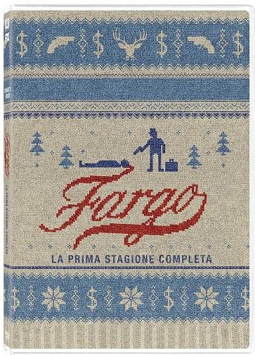 La cover del DVD della serie tv Fargo