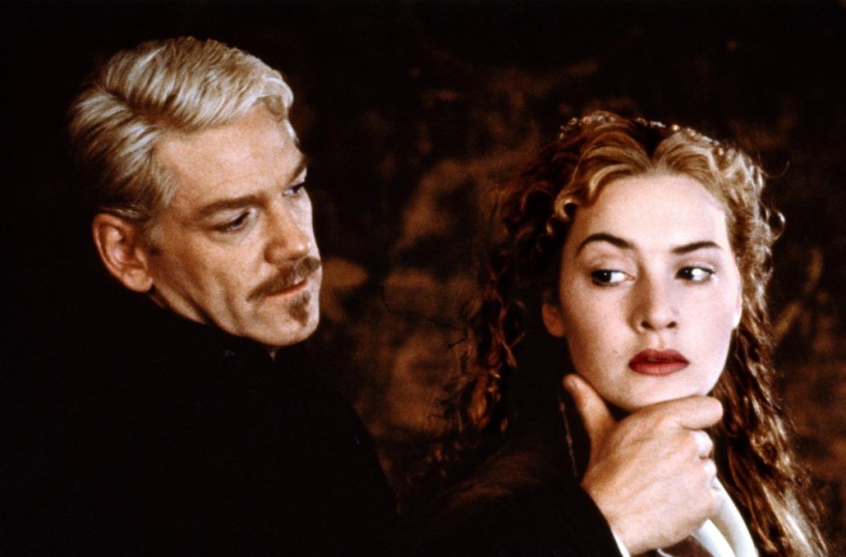 Hamlet: Kenneth Branagh e Kate Winslet in una scena del film