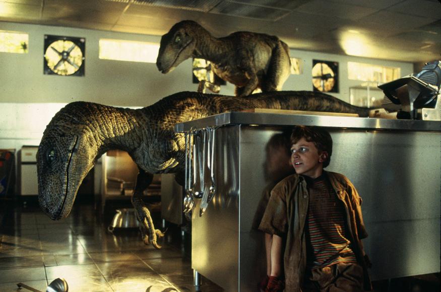 Jurassic Park: Raptors a caccia