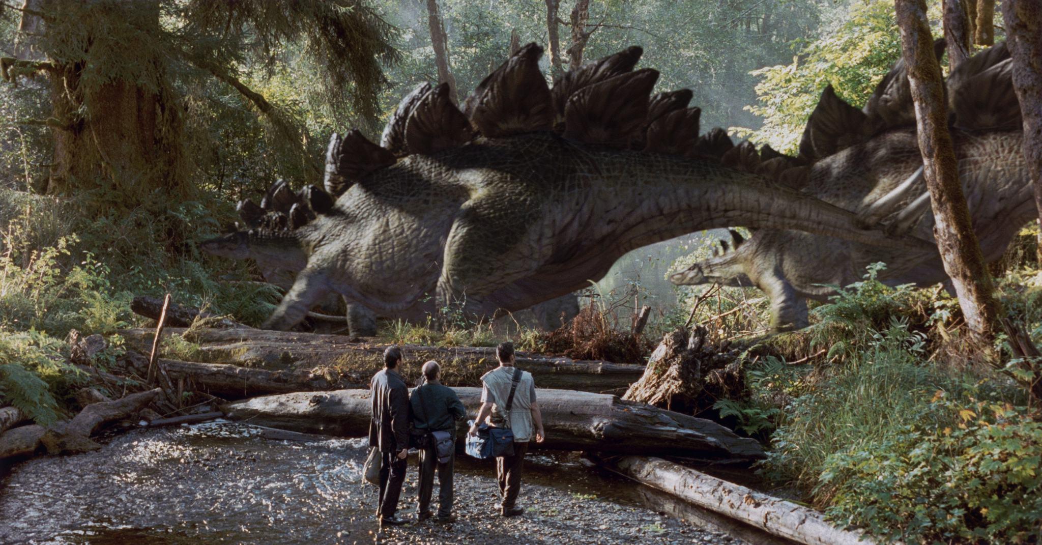 Il mondo perduto - Jurassic Park: gli Stegosauri del film