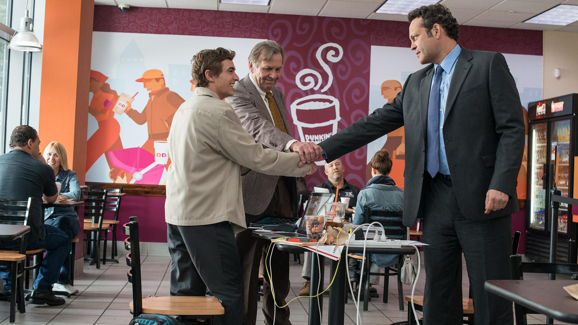 Affare fatto: Vince Vaughn, Tom Wilkinson e Dave Franco in un'immagine del film
