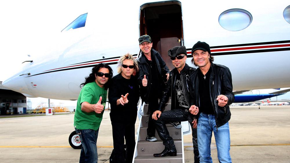 Scorpions - Forever and a Day: il gruppo in una scena del documentario