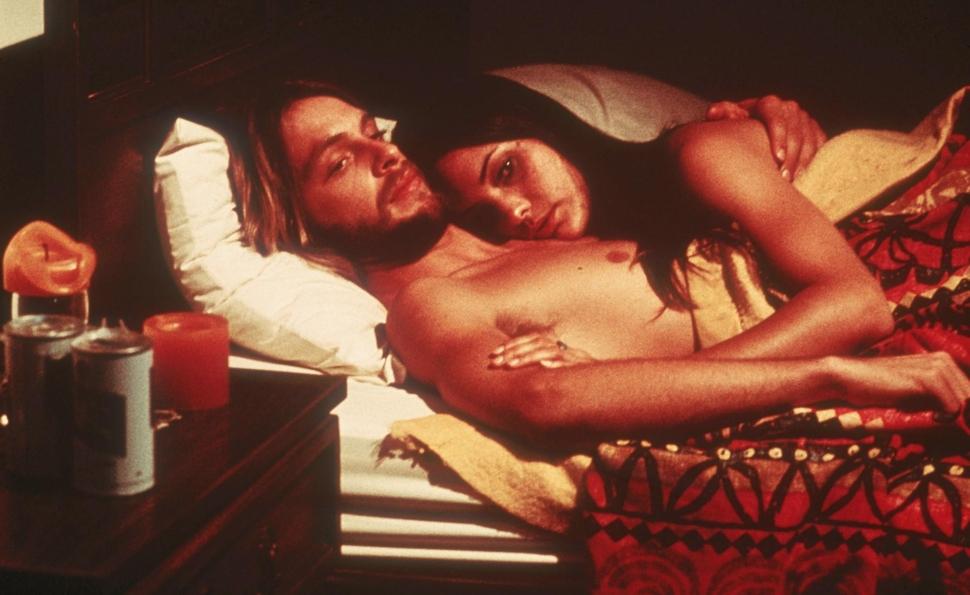 Nashville: Keith Carradine e Cristina Raines in intimità in un'immagine del film