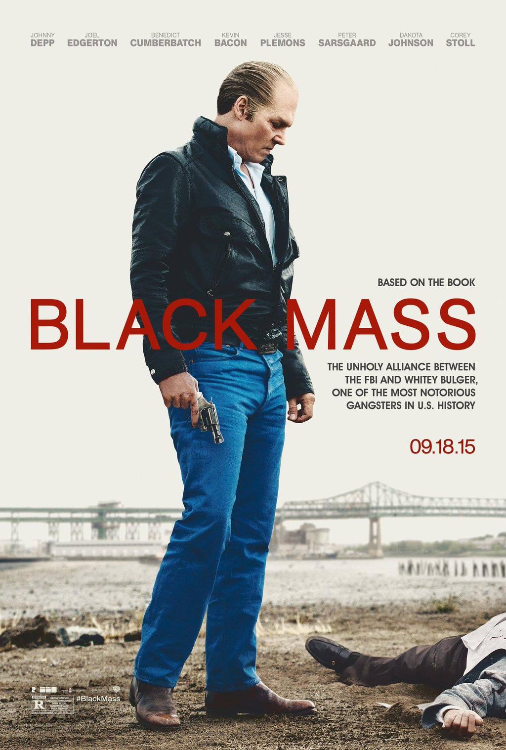 Black Mass: Johnny Depp nel teaser poster