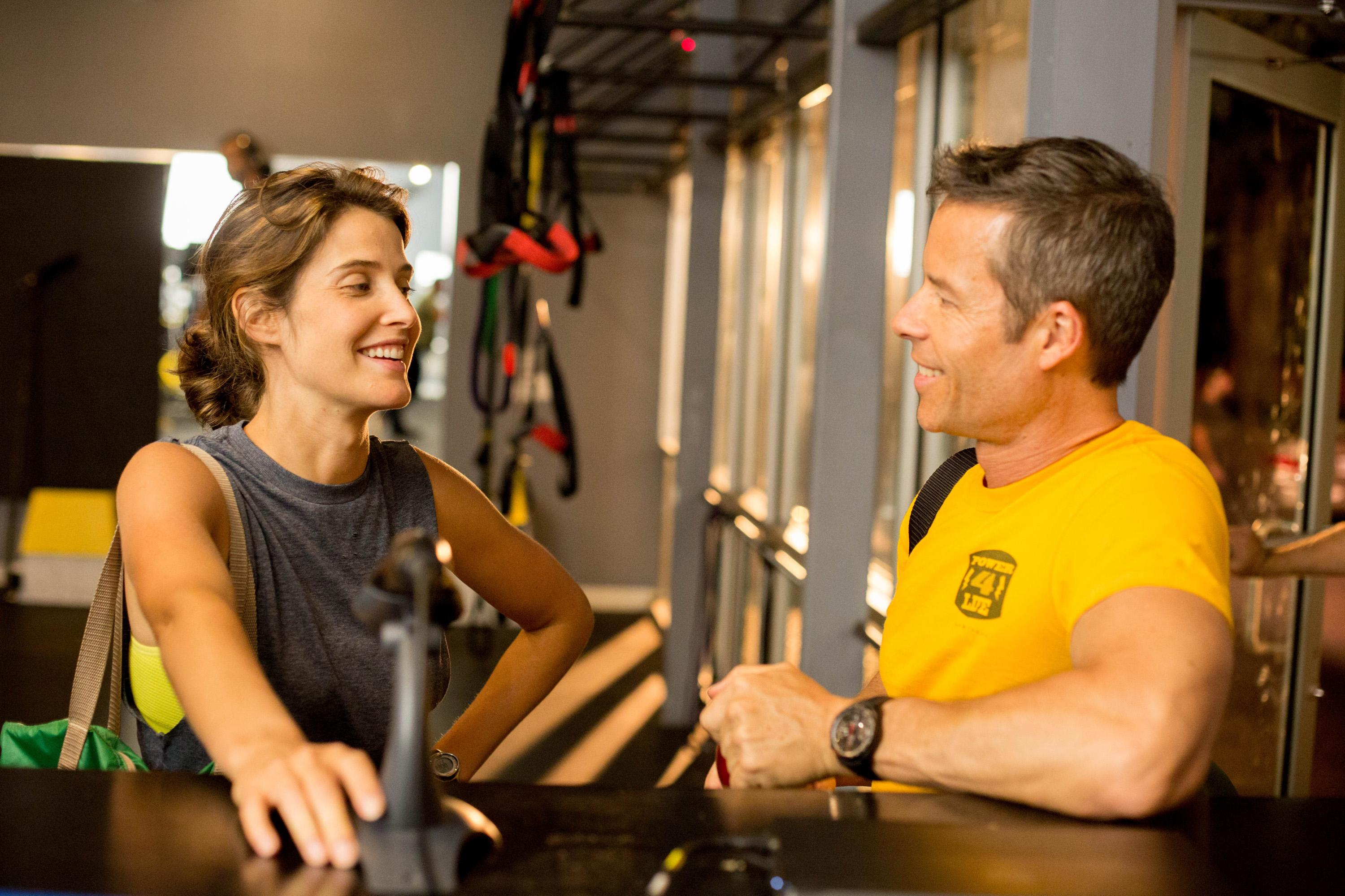 Results: Guy Pearce e Cobie Smulders in una scena