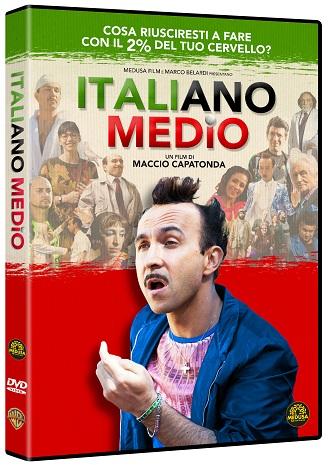 La cover del DVD di Italiano medio