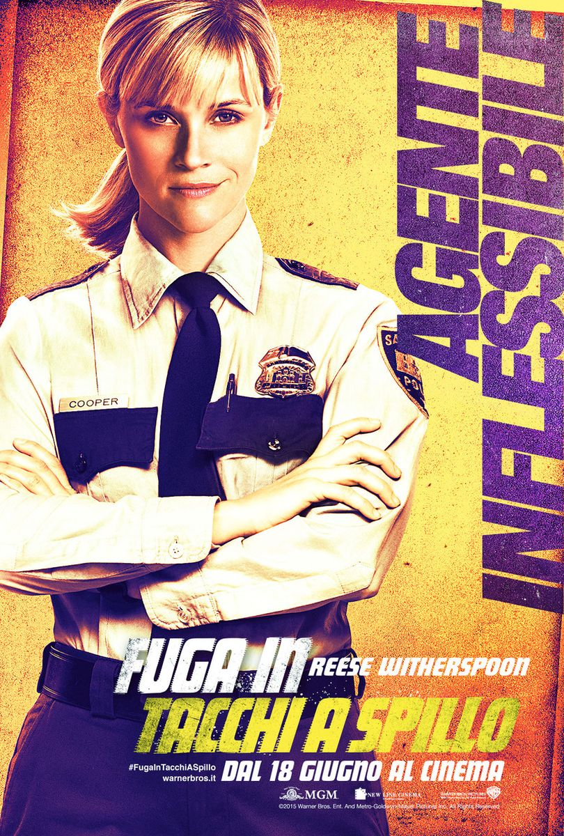 Fuga in tacchi a spillo: Reese Whiterspoon nel character poster italiano di Cooper
