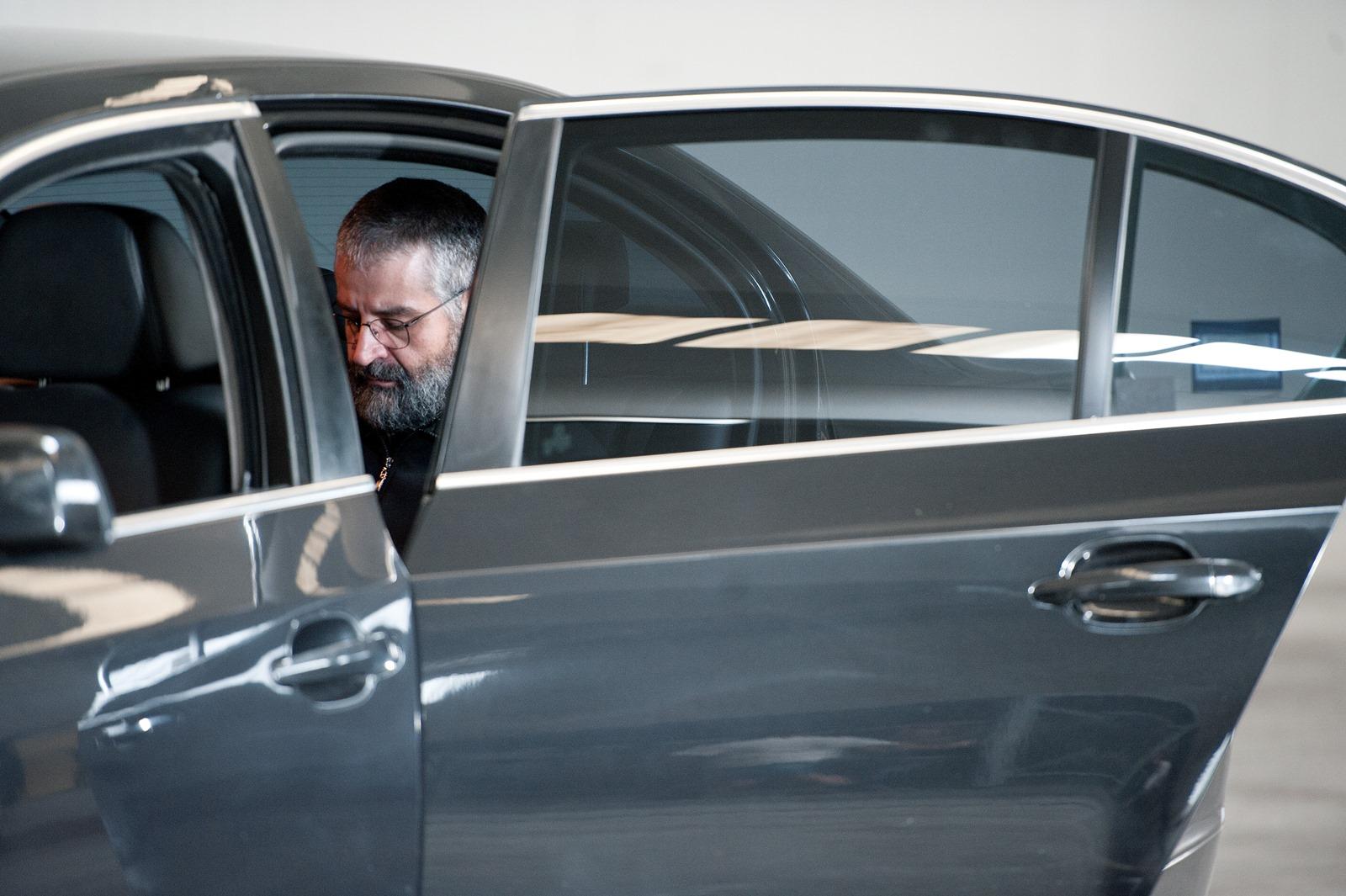 Gomorra - La serie: l'attore Fortunato Cerlino sul set della seconda stagione