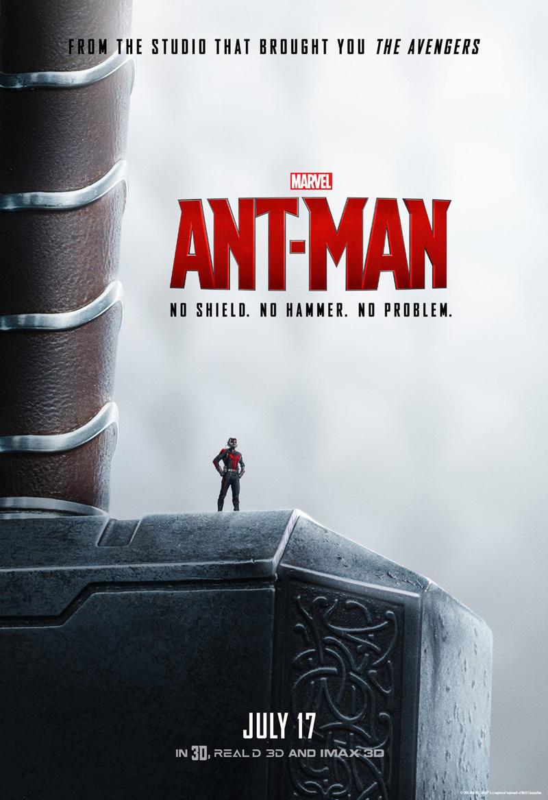Ant-Man: il poster con il martello di Thor